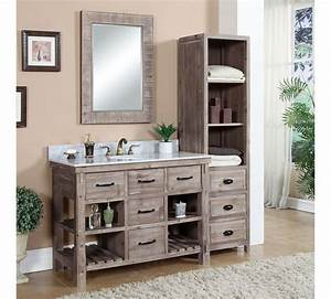 Bathroom Vanities With Matching Linen Cabinets - Home Design