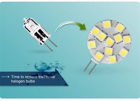 Cool White Led Replacement Lamp Side Pin Kitchen