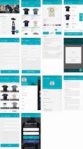 Mobile UI E Commerce App For Material Design UI Kit