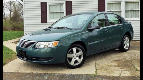 2007 Saturn Ion Level 2 Sedan Start Up, Review And Full