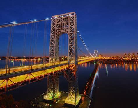 george washington bridge glossy poster picture photo hudson river york 1123 ebay