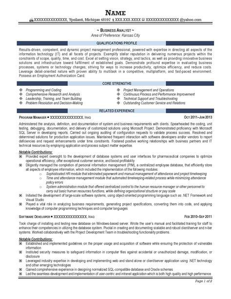 free resume templates sle professional it sles