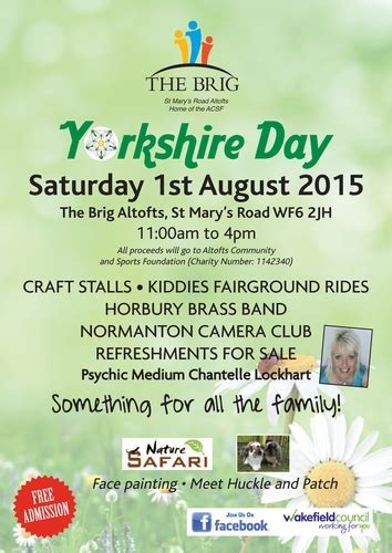 Yorkshire Day, ACSF ltd - Ref #7053 | Stall & Craft Collective