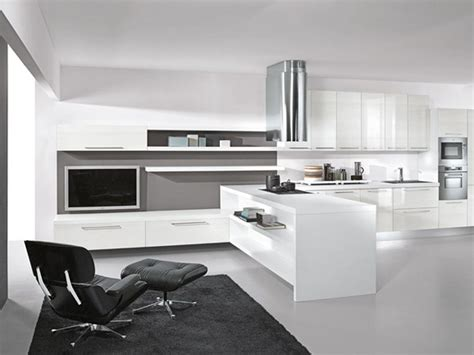 Modern Living Room Decor Ideas Modern Lacquer Black And White Kitchen Design Ideas By Arredissima Black And White Modern