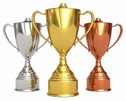 Cup Trophy Golden Silver Clipart Transparent Coupe