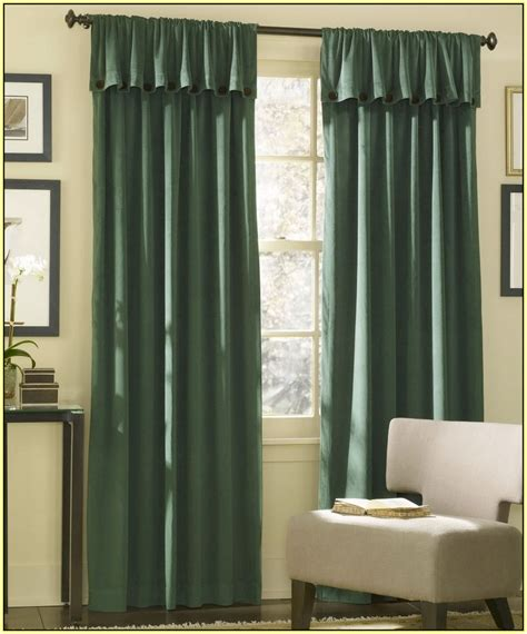 how to hang grommet curtains on sliding glass door