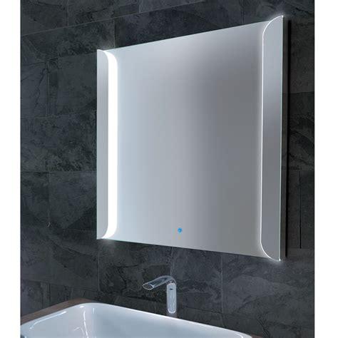 sabin modern mirror  frosted glass edge  led light