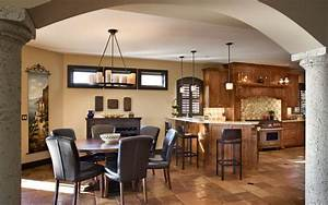 Mediterranean, Style, Home, With, Rustic, Elegance