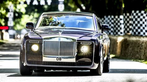 rolls royce sweptail    hurry  goodwood fos