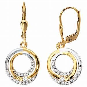 333 Gold Preis Berechnen : ohrringe ohrh nger boutons kreise mit zirkonia 333 gold ~ Themetempest.com Abrechnung