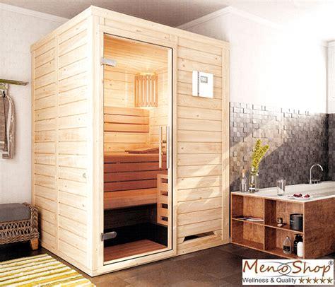 Kleine Sauna Fürs Badezimmer by Menonatura 230 Volt Massivholzsauna F 252 R Jeden Raum
