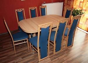 Esstisch Ausziehbar Mit 6 Stühlen : esstisch mit 8 st hlen super g nstig anzugeben speisezimmer e ecke ~ Bigdaddyawards.com Haus und Dekorationen