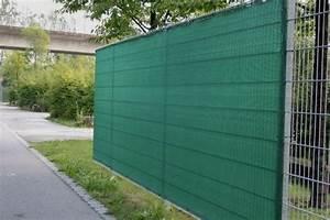 zaunblende grun 75 schutzwert in grun With garten planen mit netz für balkon gegen tauben