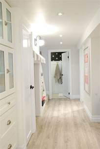 basement white bright rambling renovators lighting the floor and laminate