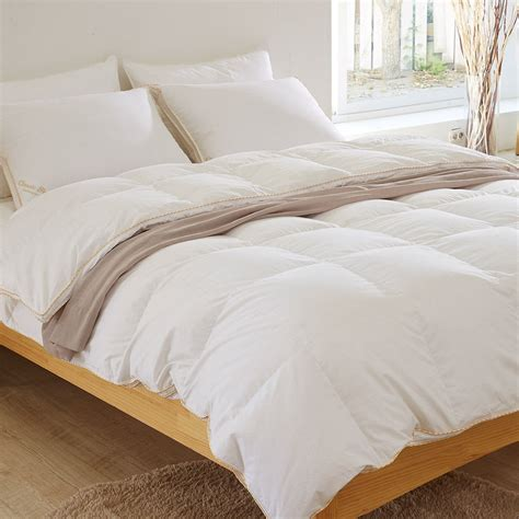 goose feather comforter goose 80 duvet comforter all season white bedding