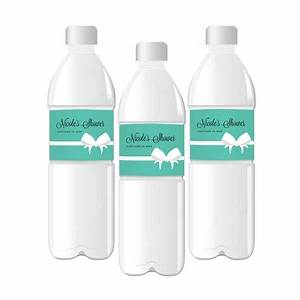personalized water bottle labels with bride co design With company water bottle labels