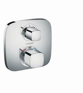 Hansgrohe Unterputz Thermostat : ecostat e brausearmaturen 2 verbraucher chrom 15708000 ~ Watch28wear.com Haus und Dekorationen