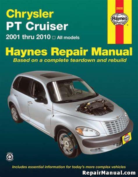 pt cruiser service manual haynes