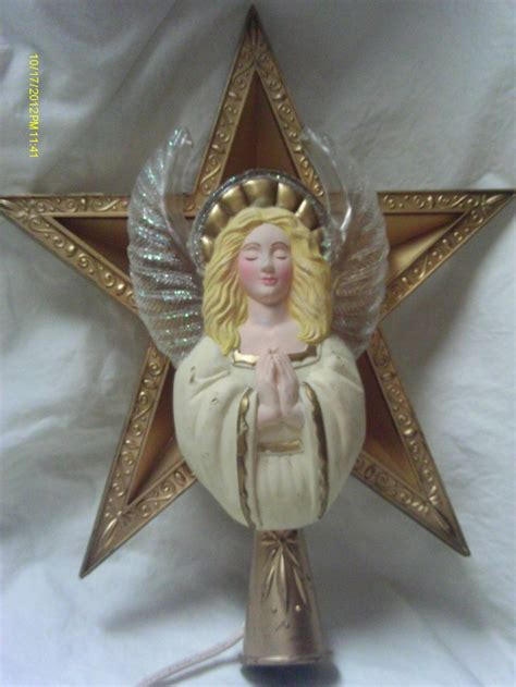 light up angel tree topper pin by mary hough on a christmas classic pinterest