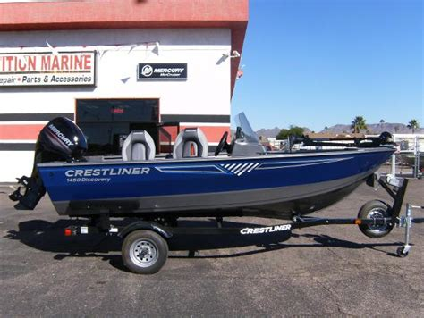 Speed Boats For Sale In Arizona by Crestliner 1450 Discovery Sc Boats For Sale In Arizona
