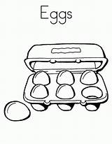 Coloring Eggs Ham Pages Popular sketch template