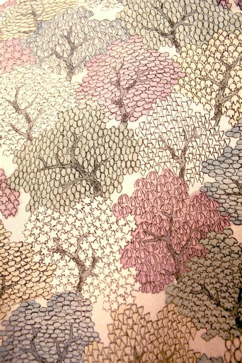 tree pattern kimono fabric patterns pinterest