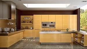 17 Wooden Matte Finished Kitchen Designs Home Design Lover