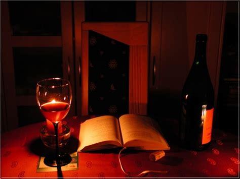 Romantischer Abend Für Eine Person Foto & Bild