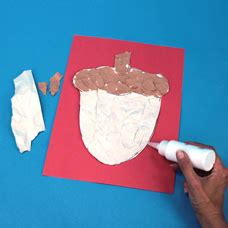 acorn printable craft project ideas