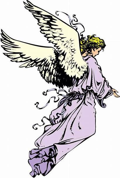 Angel Guardian Clipart Transparent Angels Cliparts Praying