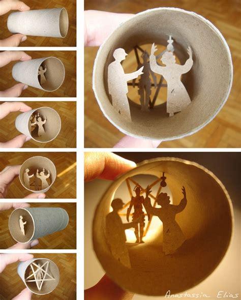 creation rouleau papier toilette le monde vu depuis un rouleau de papier toilette