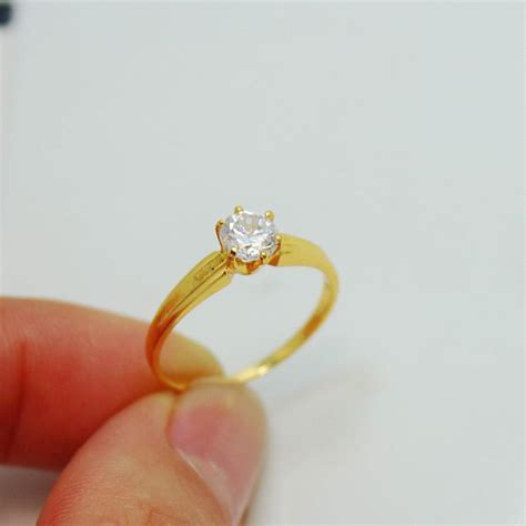 ms diamond wedding rings wedding rings gold plated marry alluvial gold wedding jewelry