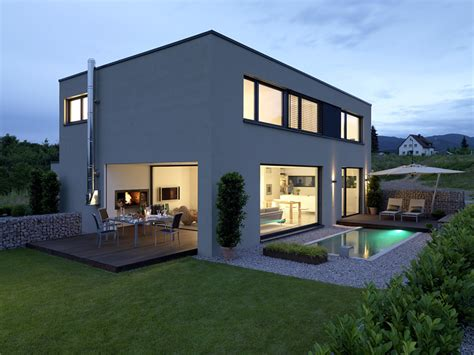 Großes Modernes Haus by Sch 214 Ner Wohnen Wettbewerb Haus Des Jahres 2009 4 Platz