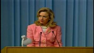 From the Archives: Hillary Clinton Delivers Women's Rights ...