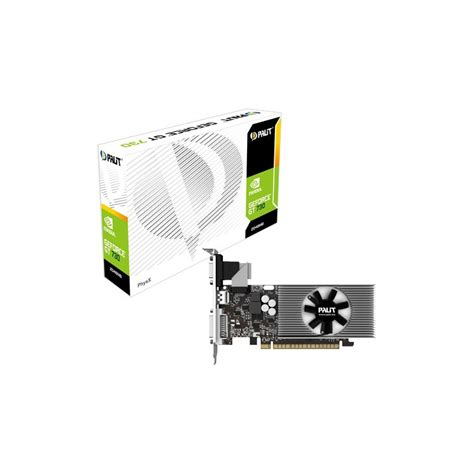 carte graphique pc bureau carte graphique palit geforce gt 730 2go ddr3