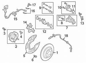 2013 Ford Fusion Motor  Parking  Electric  Adjust  Brake