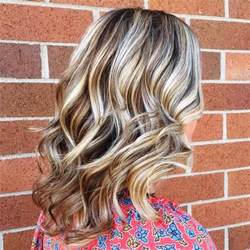Grey Hair with Blonde Highlights