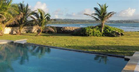 bedroom waterfront villa  sale tobago plantations