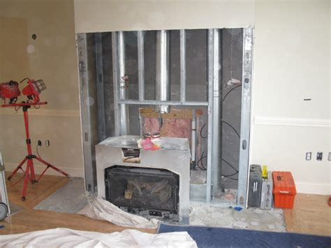 removing gas fireplace insert charming fireplace