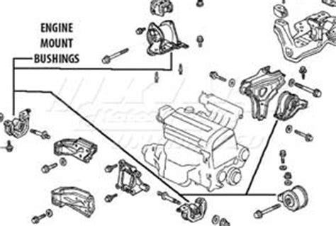Acura Legend Motor Mount Diagram by Mugen Engine Mount Set 5 Set 50800 Xg5 S1n0 King