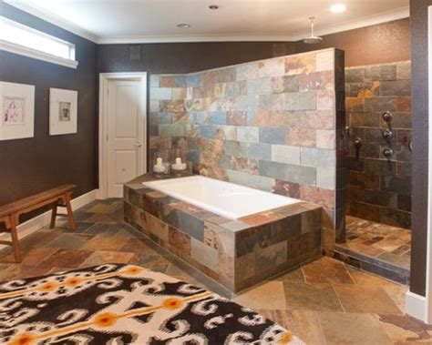modern walk  shower home design ideas pictures remodel