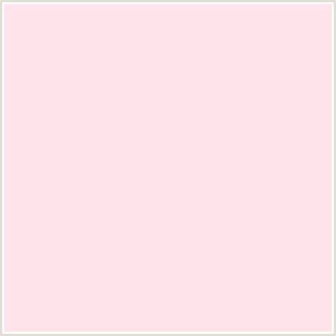 pale pink color ffe3eb hex color rgb 255 227 235 light pale
