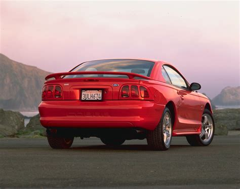 02 Mustang Cobra Specs by 1998 Ford Mustang Svt Cobra Coupe