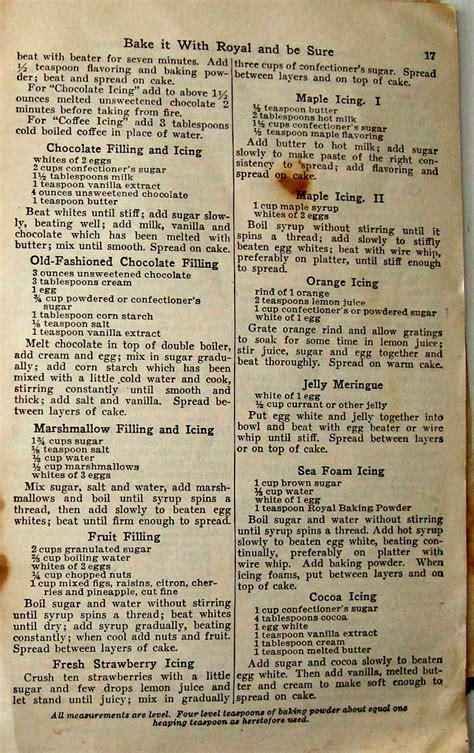 1922 Royal Baking Powder Recipe Book oldrecipebook.com