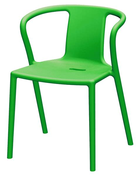 chaise italienne air armchair stackable armchair polypropylene green by magis