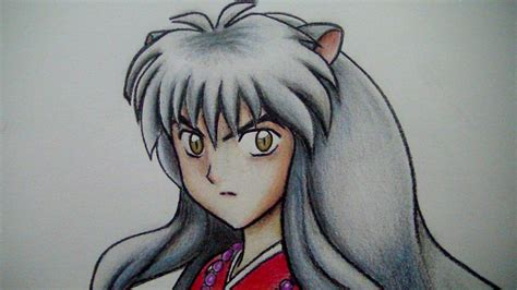 como dibujar  inuyasha youtube