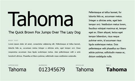 Is Tahoma A Font For Resume what fonts should you use for your resume