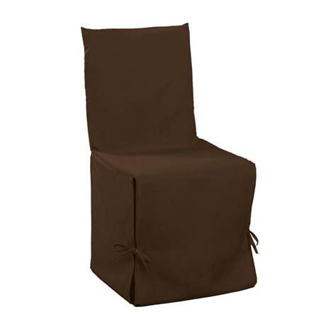 housse de canapé chocolat housse de chaise gamme essentiel chocolat housse de