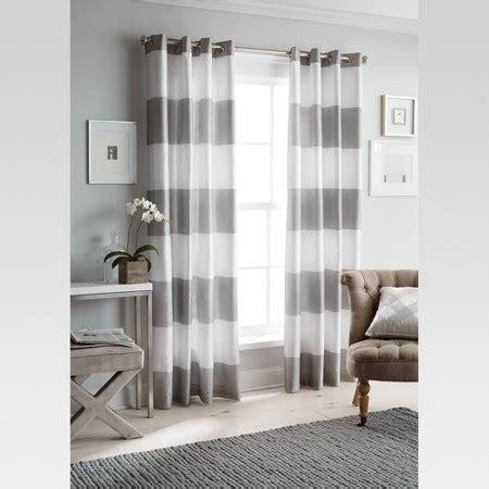 grey curtains target bold stripe curtain panel grey 84 threshold target