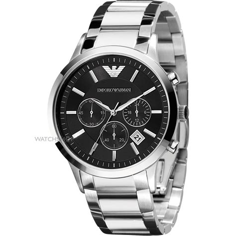 Men's Emporio Armani Chronograph Watch (ar2434)  Watch. Venetian Beads. Circular Lockets. Dangle Earrings. Tri Tone Necklace. Marco Bicego Rings. 14k Bangles. Anklets For Her. Style Bracelet